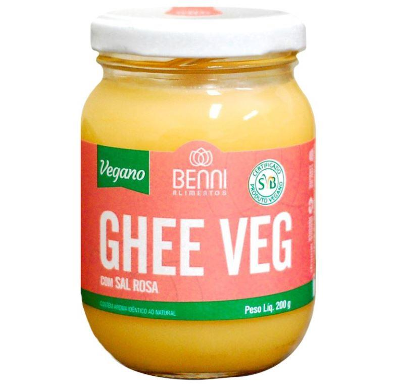 Manteiga Benni Ghee Vegano com Sal Rosa 200g