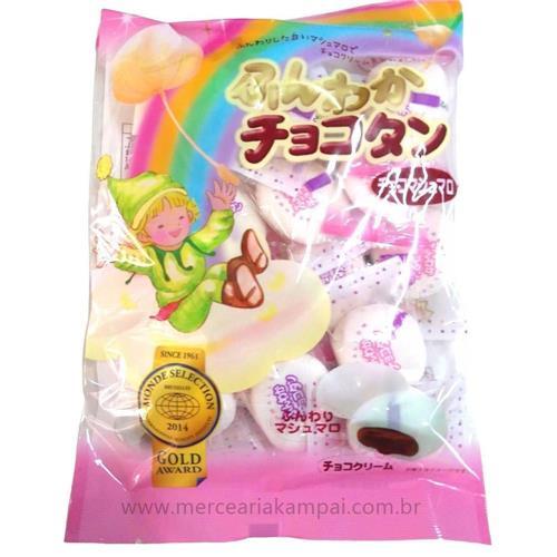 Marshmallow Japonês Sabor Chocolate 90g