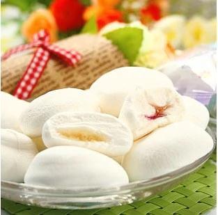Marshmallow Recheado Com Morango - 100 Gramas