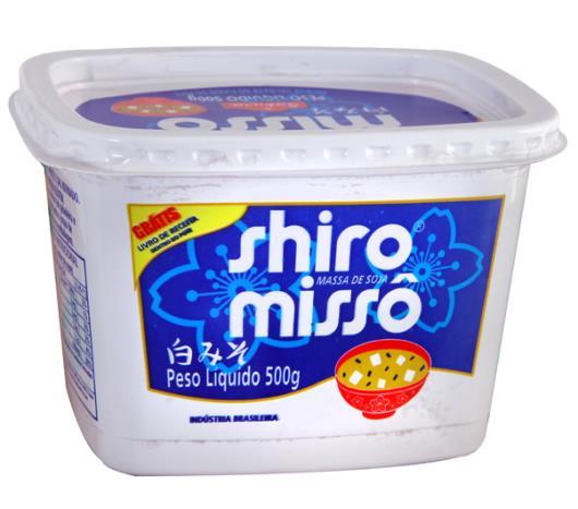 Massa de Soja Missô Sakura Branco 500 g - Vence março2021