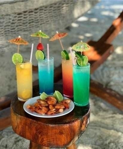 Mini Guarda Chuva Para Bebida Drink Enfeite 20 Peças