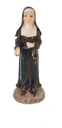 Santa Paulina 10cm Resina
