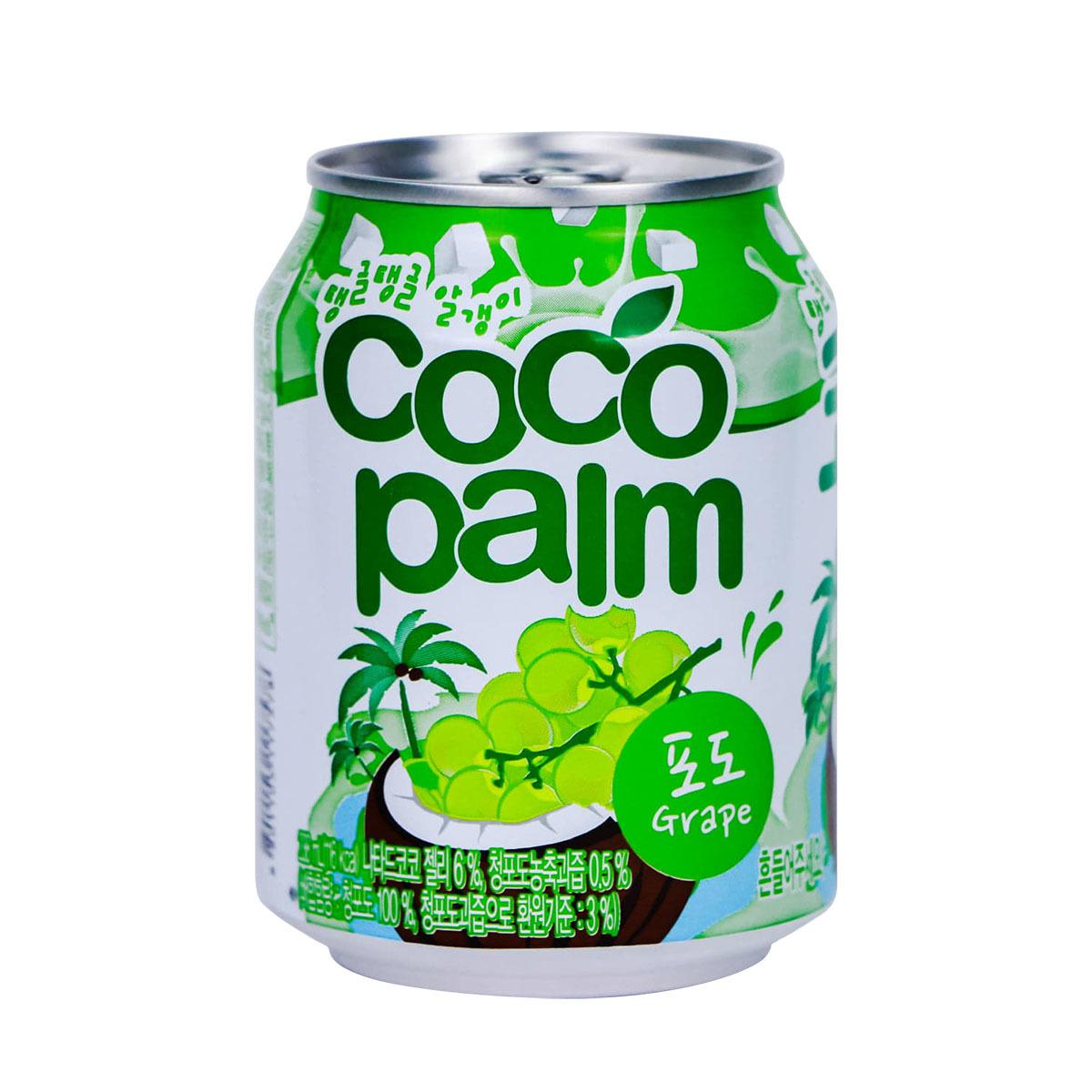 Suco De Uva Com Coco Haitai 235ml - Origem Coreia