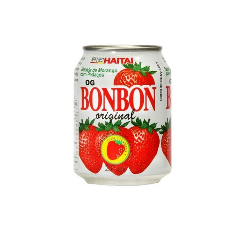 Suco Haitai Bon Bon Sabor Morango