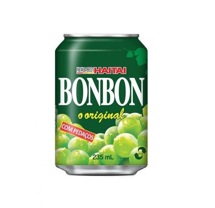 Suco Haitai Bon Bon Sabor Uva Verde