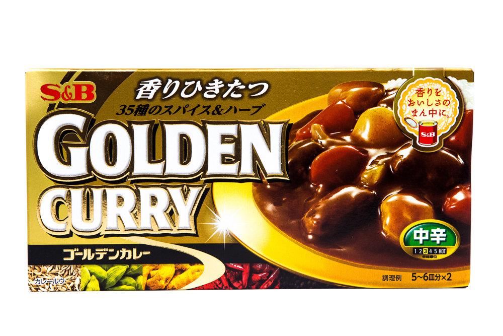 TEMPERO S E B GOLDEN CURRY CHUKARA 198g