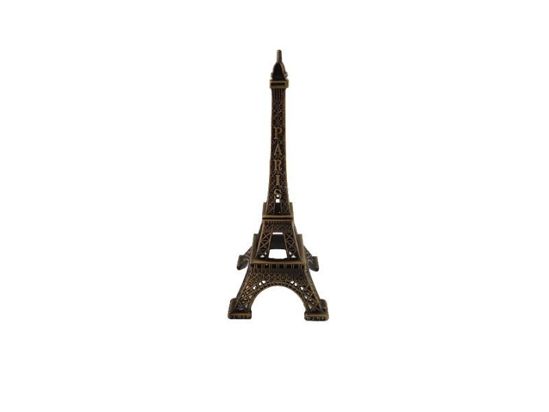 Torre Eiffel Paris Decorativa Em Metal - 13cm KL