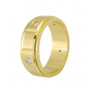 Aliança de Casamento Century Ouro Amarelo 18k (7mm)
