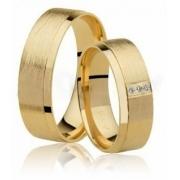 Aliança de Casamento Fosca em Ouro 18k Radiant (6.10mm)