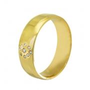 Aliança de Casamento Intense Ouro Amarelo 18k (6mm)