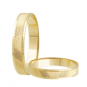 Aliança de Casamento Ouro Amarelo 18k (3.75mm)