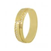 Aliança de Casamento Royal Ouro Amarelo 18k Anatômica (5mm)