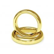 Aliança de Casamento Santiny Classic Ouro Amarelo (3.40mm)