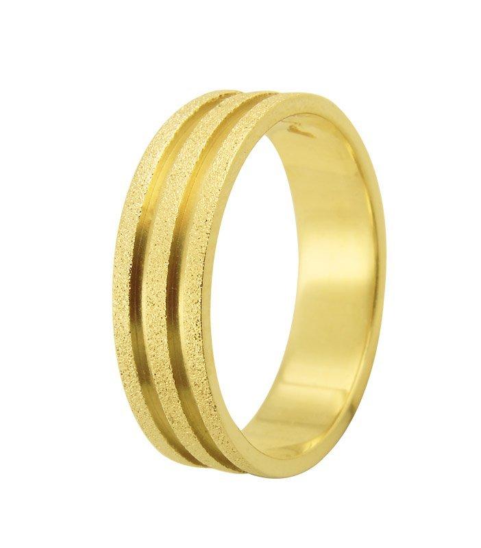 Aliança Casamento Essence Diamantada de Ouro 18k (5mm)