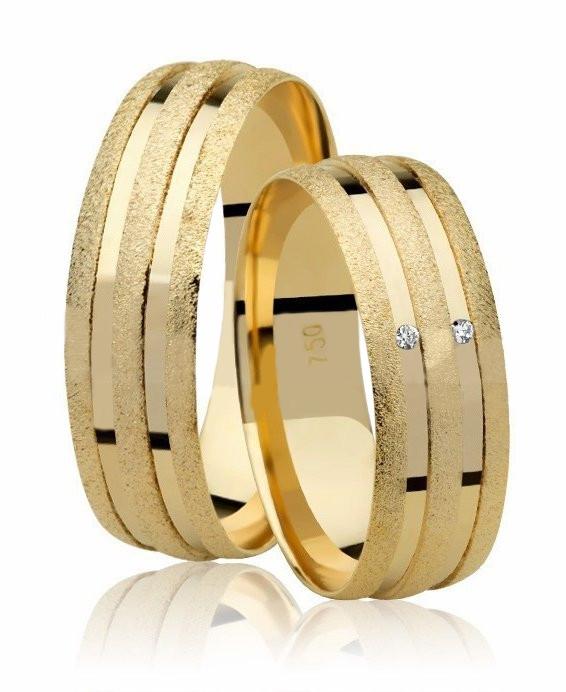 Aliança de Casamento Joy em Ouro 18k Anatômica (6mm)