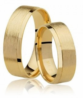 Aliança de Casamento Radiant em Ouro 18k  (6.10mm)