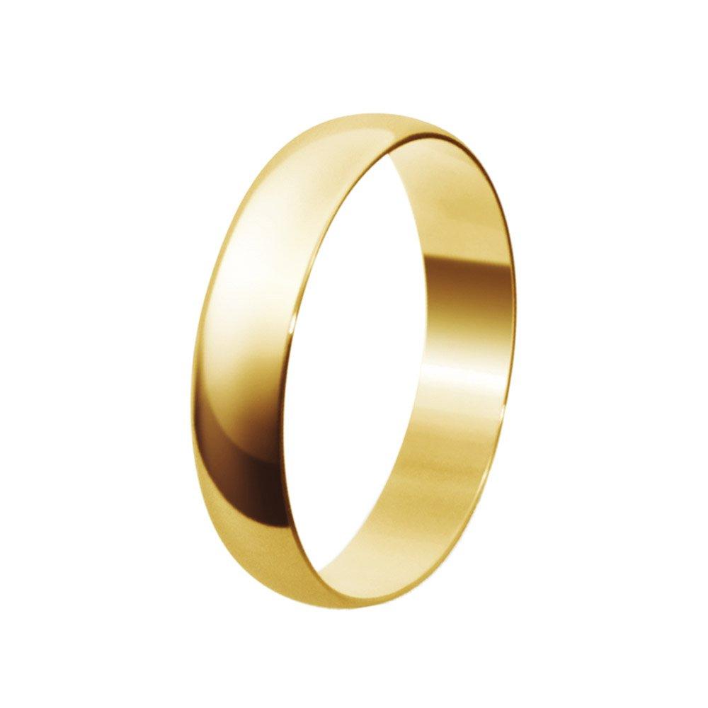 Aliança de Casamento Santiny Classic em Ouro Amarelo (3.50mm)