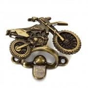 Abridor de Garrafa Motocross - Ouro Velho Kit com 4 Unidades