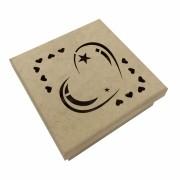 Caixa em MDF - Coração com Estrelas