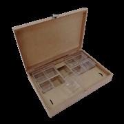 Caixa Gin - Especiarias - 8 Potes Acrílico  31X21X7