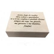 Caixa porta Joia em MDF - Santo Anjo