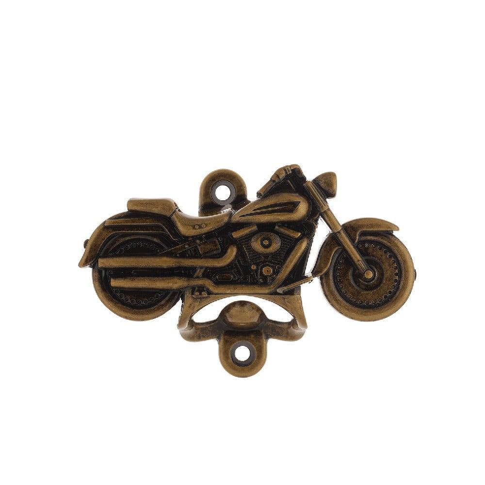 Abridor de Garrafa Harley Davidson - Ouro Velho Kit com 4 Unidades