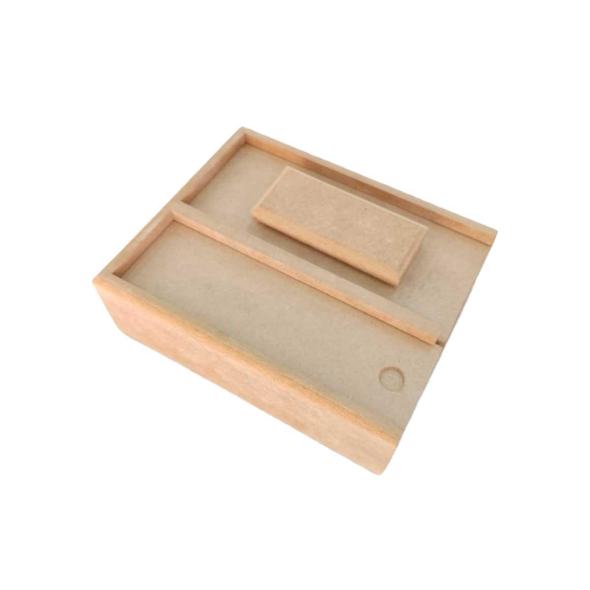 Apagador / Caixa para Giz - Duplo
