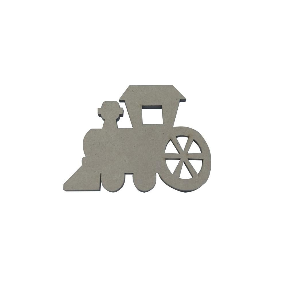 Aplique Trem em MDF