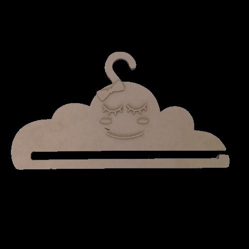 Cabide porta Faixa / Laço - Nuvem