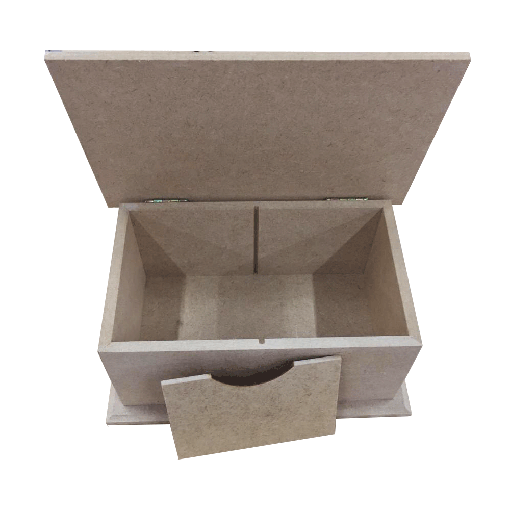 Caixa em MDF - Chá com Base