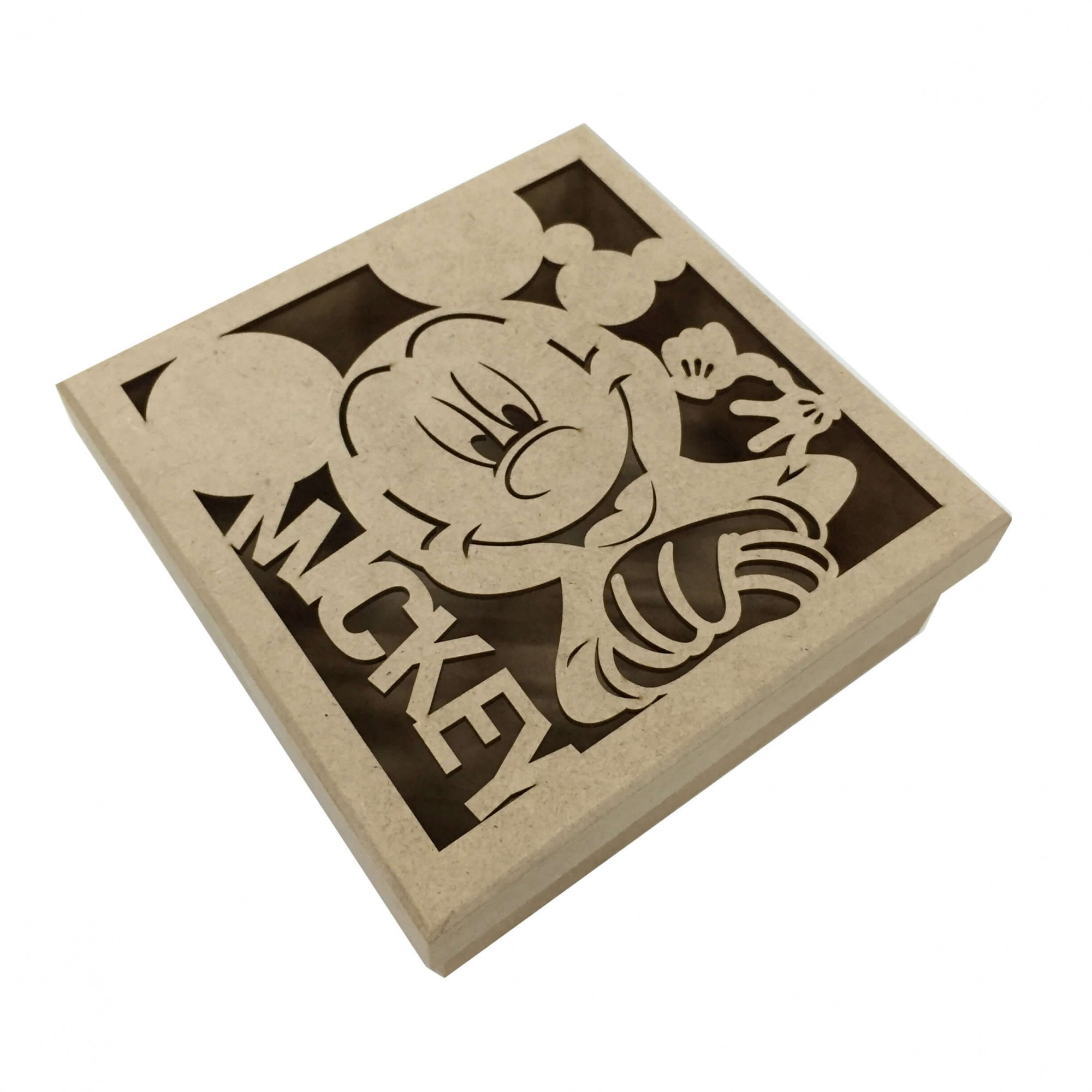 Caixa em MDF - Mickey