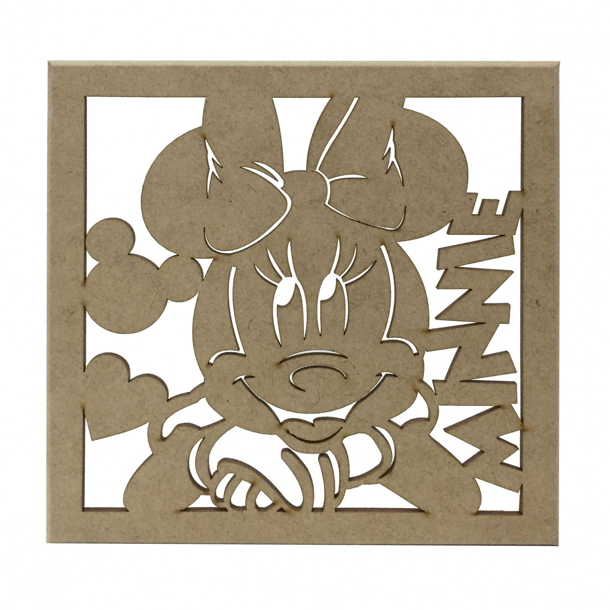 Caixa em MDF - Minnie