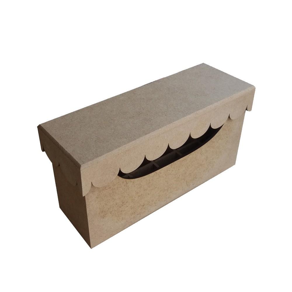 Caixa em MDF para Batom - Retangular Lisa