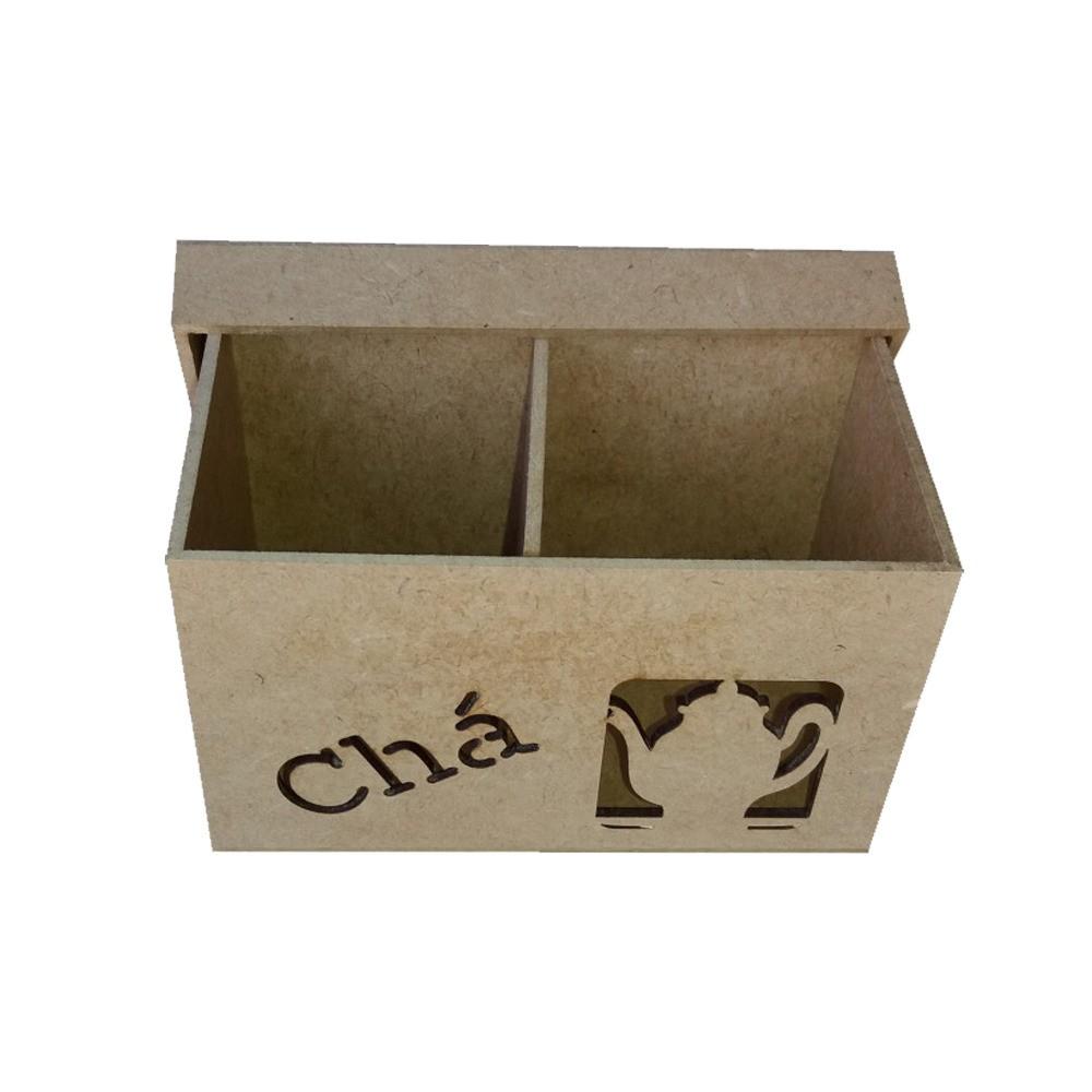 Caixa em MDF para Chá - 1 Divisória