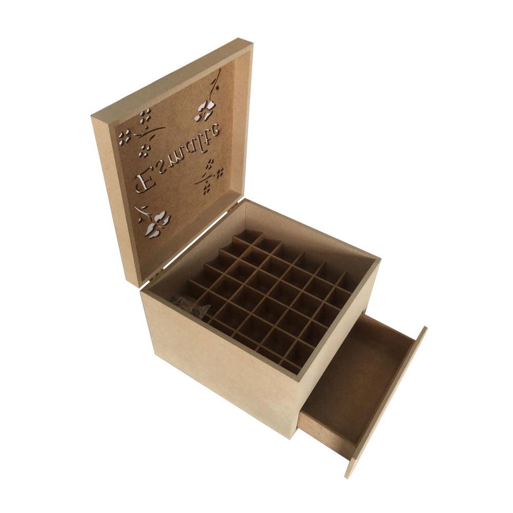 Caixa de Esmalte em MDF - 1 Gaveta