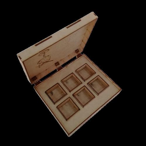 Caixa Gin - Especiarias - 6 Potes 20x18x5