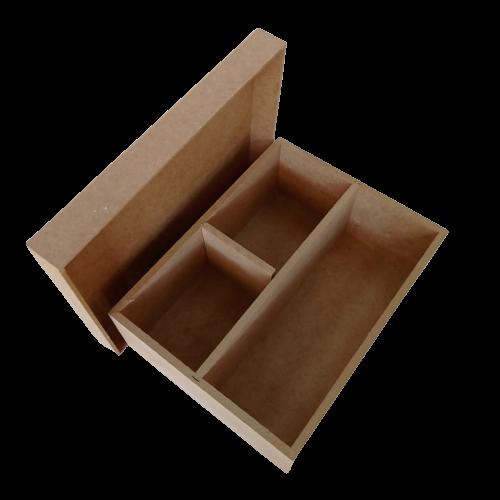 Caixa Mini Chandon 2 Divisórias 22,5X17,5X8CM