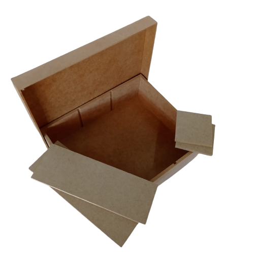 Caixa Mini Chandon 3 Divisórias 27X22,5X8CM