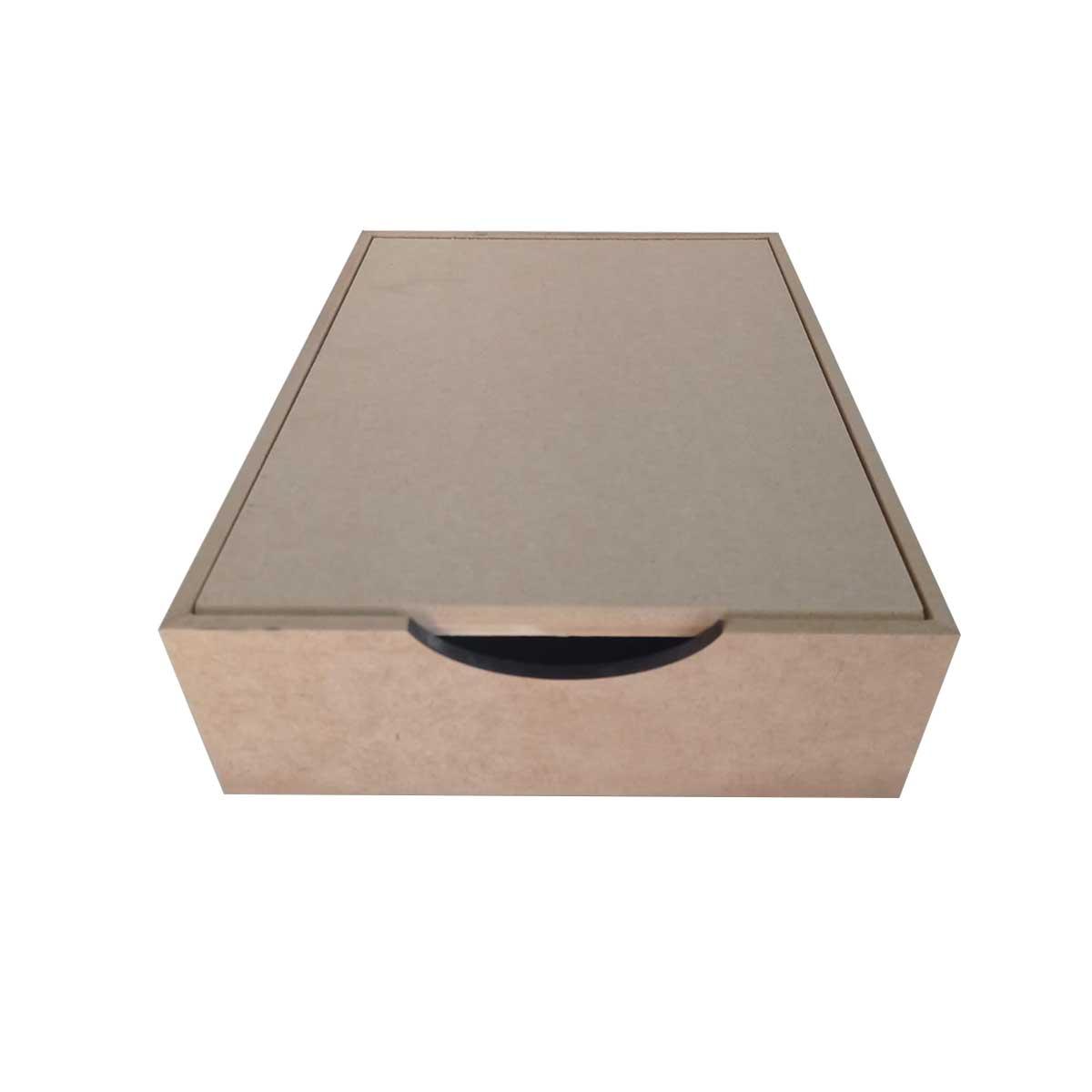 Caixa para Documentos - Basculante 32x24x8cm