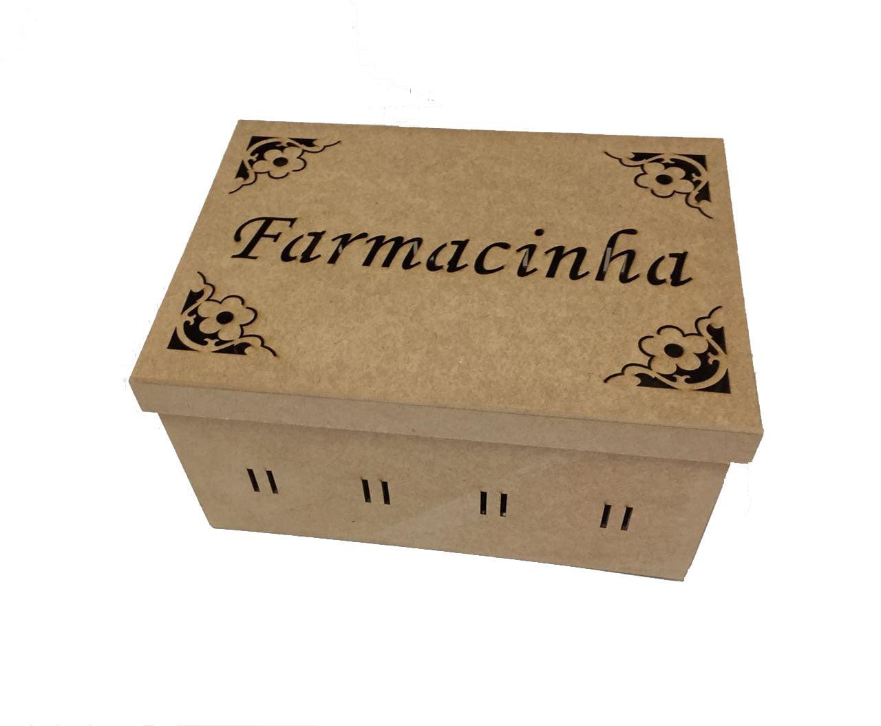 Caixa para Remédio em MDF - Farmacinha