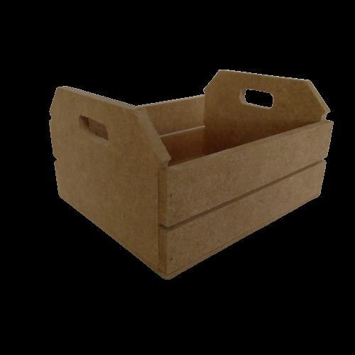 Caixote de Feira em MDF -  25X18,5X12,5