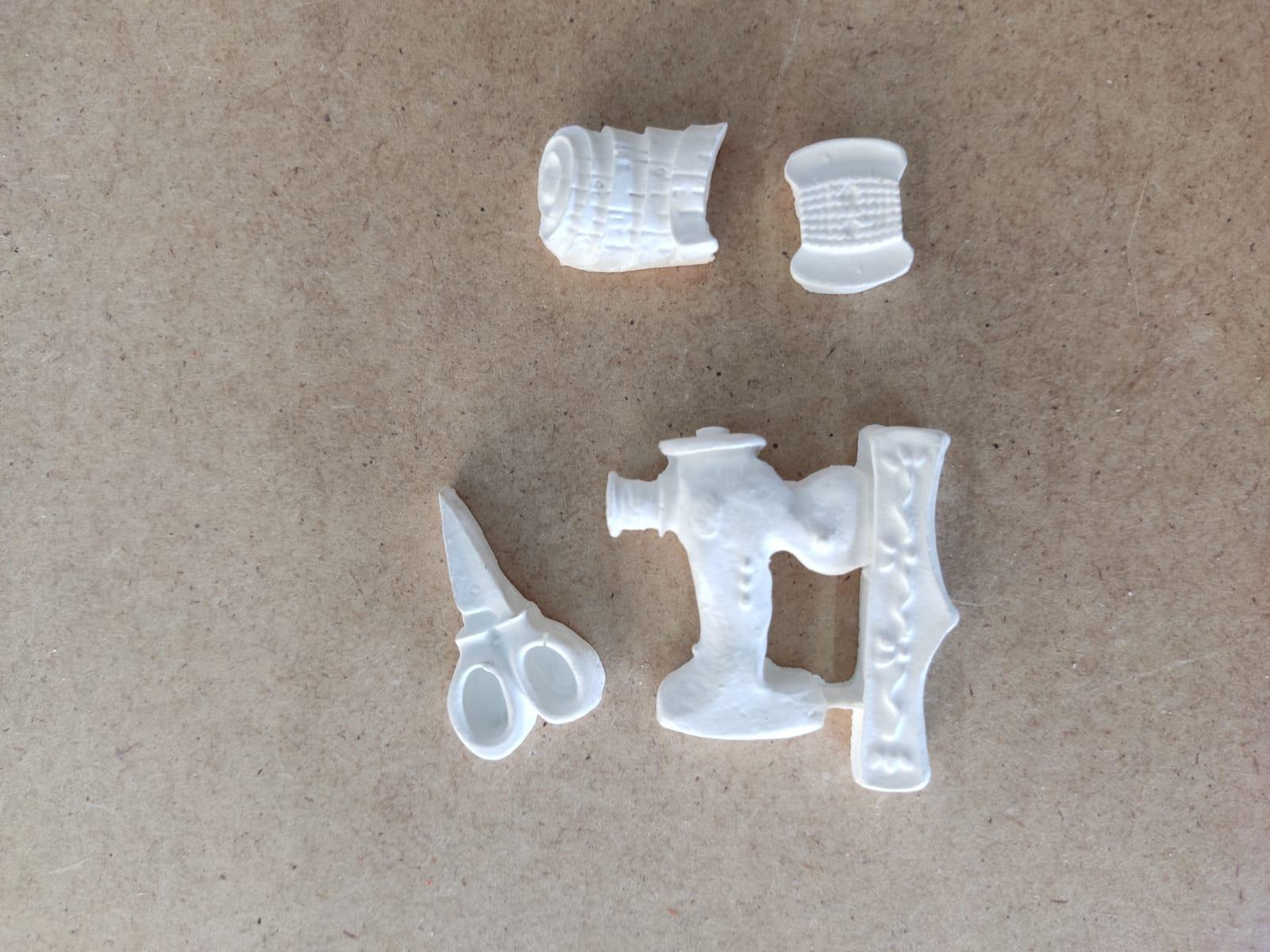 Aplique em Resina - Kit Costura