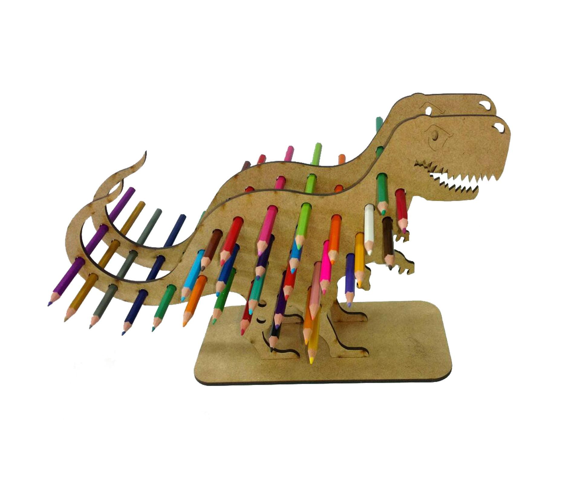 Dinossauro Porta Lápis