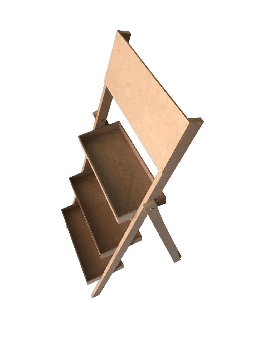 Escada Porta Doces em MDF - 3 Degraus