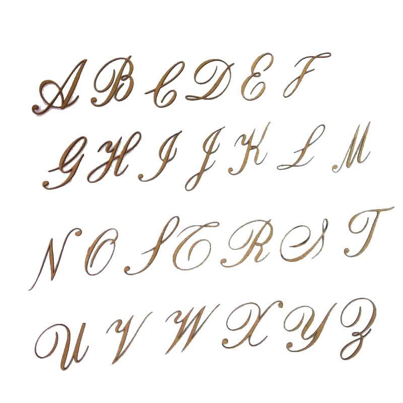 Letras em MDF - Cursiva 6cm