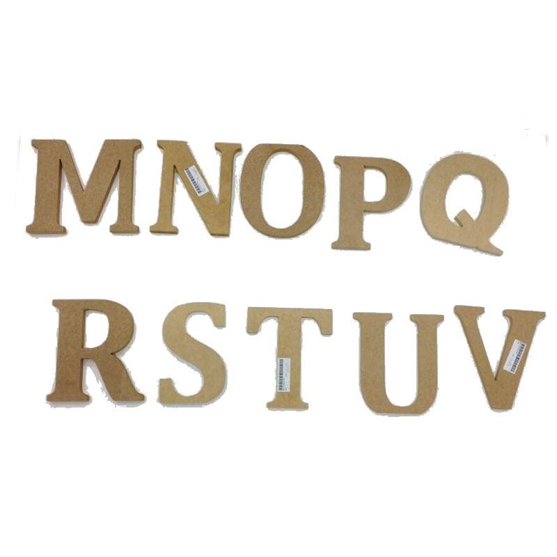 Letra em MDF para Mesa -12cm