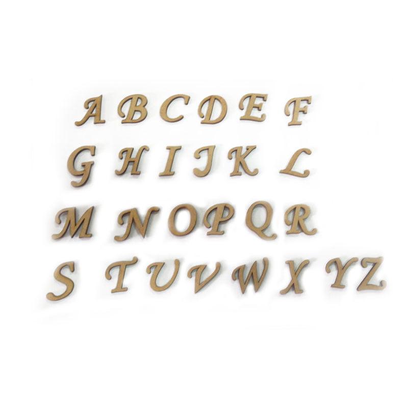 Letras em MDF - 3 cm