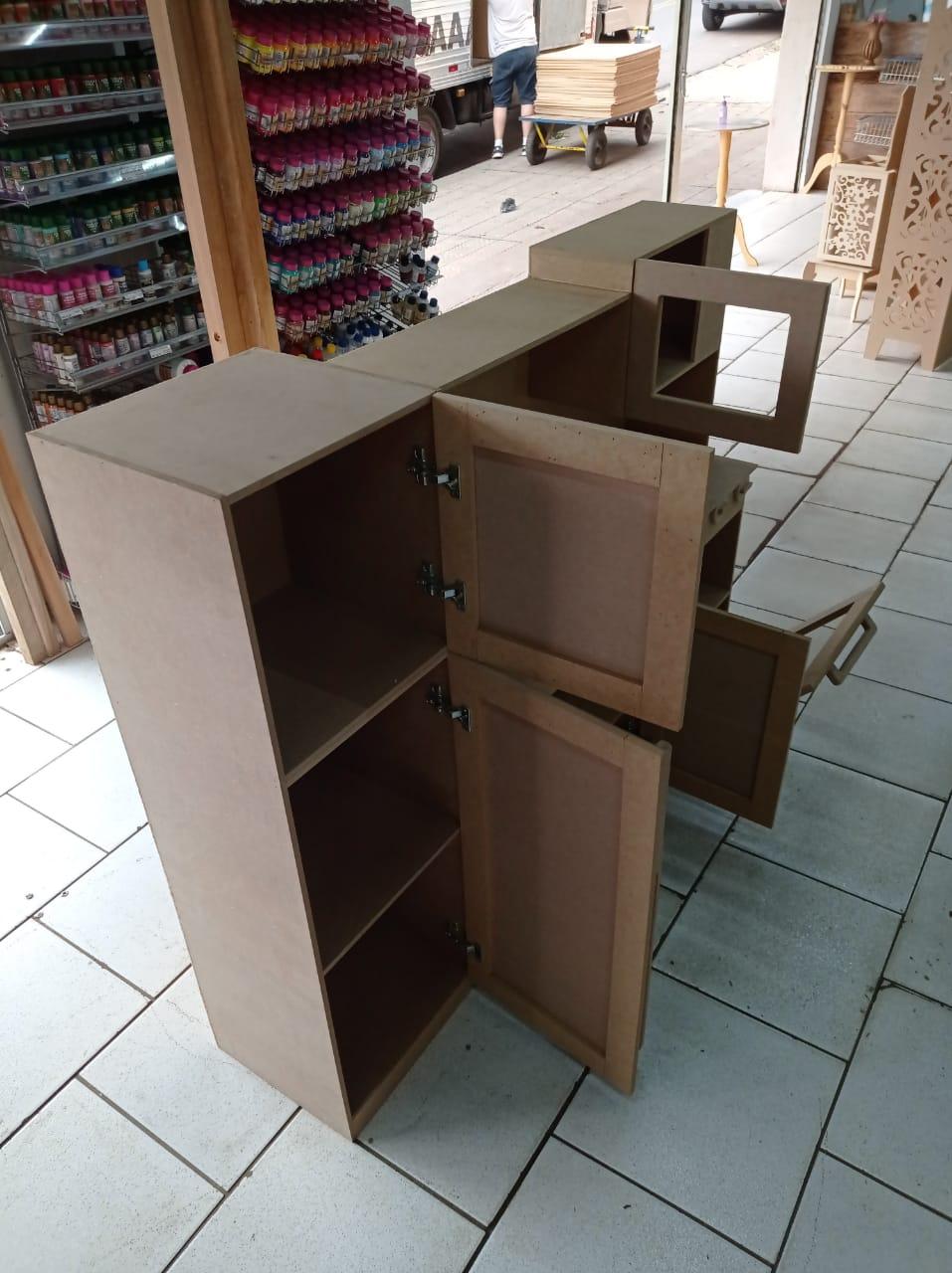 Mini Cozinha Infantil em MDF