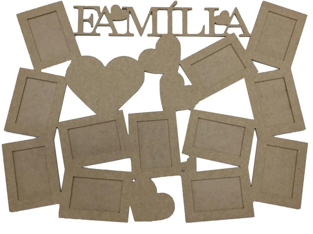 Mural de Fotos - Família