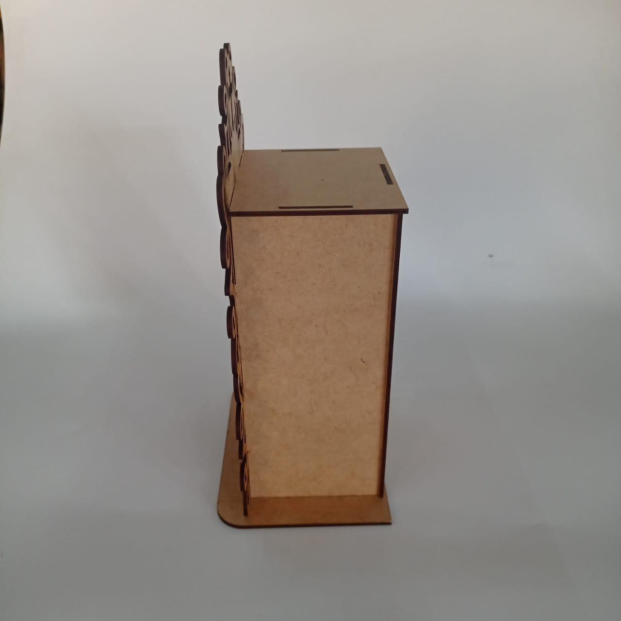 Oratório em MDF - Médio - 25X14x10cm
